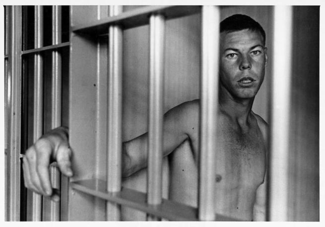 Danny Lyon. 'Charlie Lowe, Ellis Unit, Texas' 1968