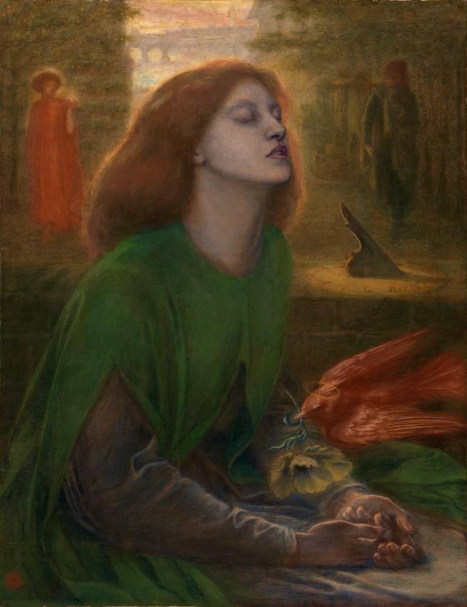 Dante Gabriel Rossetti. 'Beata Beatrix' c.1864-70