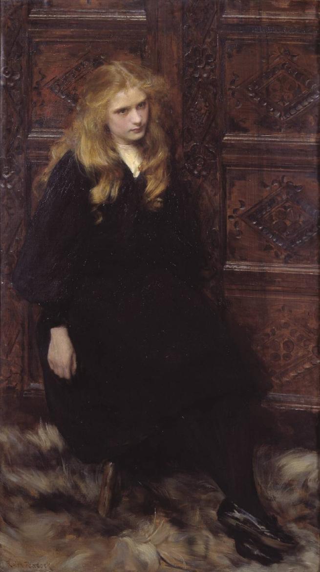Edward Linley Sambourne (1844–1910) 'Ethel Warwick, Camera Club, 2 August 1900'
