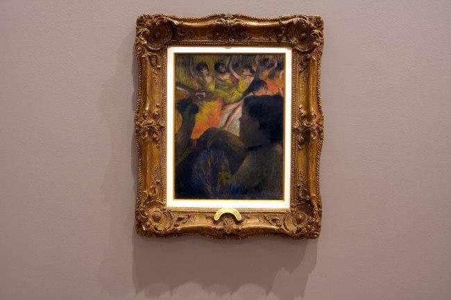 Edgar Degas. 'La Loge [Theatre box]' 1885