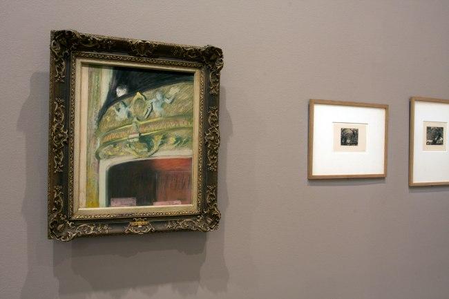 Edgar Degas. 'La Loge [Theatre box]' 1880