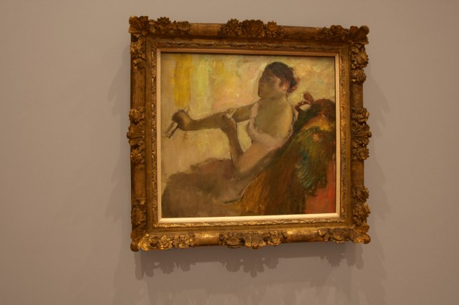Edgar Degas. 'Rose Caron' c. 1892 (installation view)