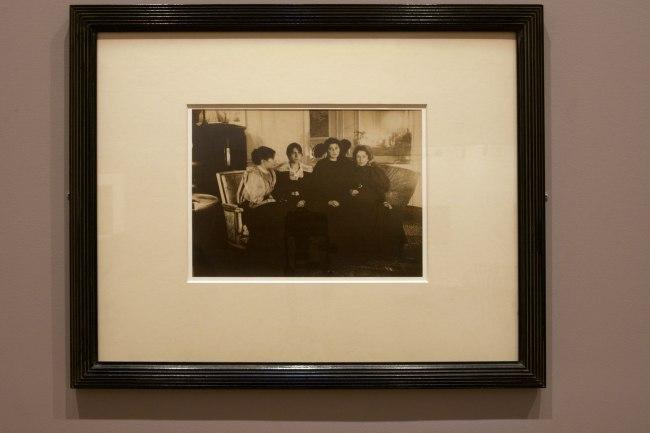 Edgar Degas. 'Paul Gobillard, Jeannie Gobillard, Julie Manet, and Genevieve Mallarme' 16 December 1895