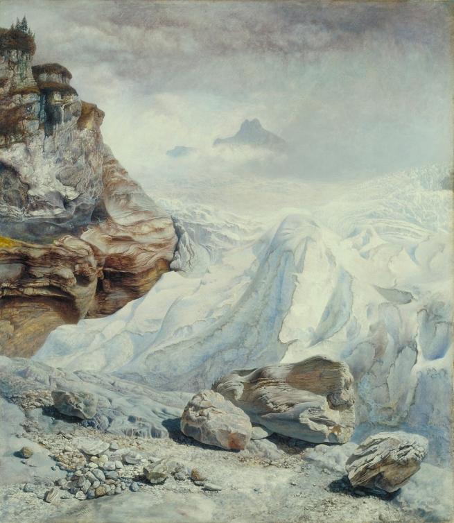 John Brett (1831-1902) 'Glacier of Rosenlaui' 1856