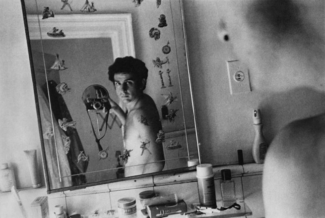 Danny Lyon. 'Self-Portrait in Mary Frank's Bathroom, New York' 1969