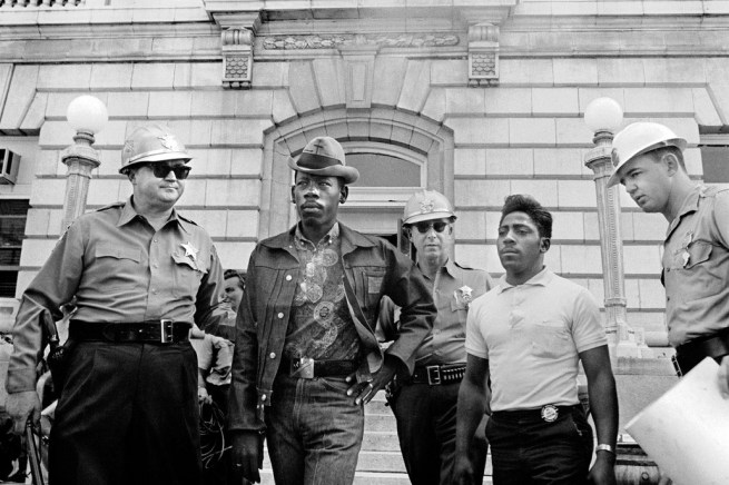 Danny Lyon. 'Sheriff Jim Clark Arresting Demonstrators, Selma, Alabama' October 7, 1963