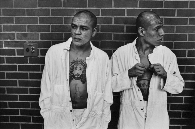 Danny Lyon. 'New Arrivals from Corpus Christi, The Walls, Texas' 1968