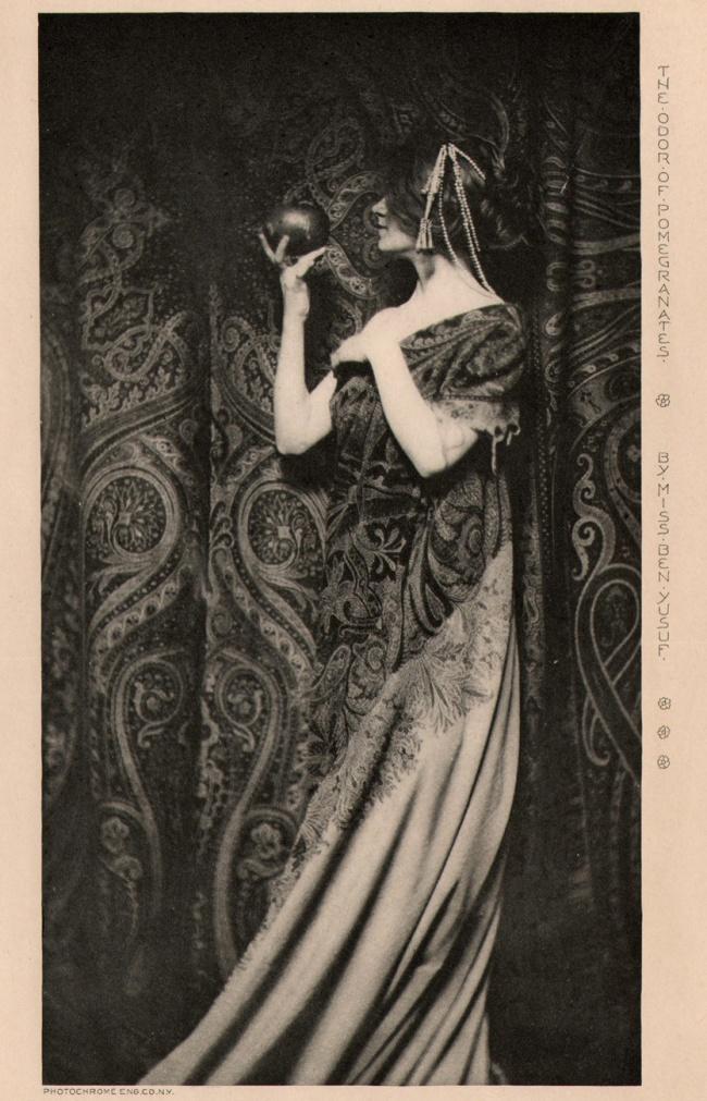 Zaida Ben-Yusuf. 'The Odor of Pomegranates' 1899