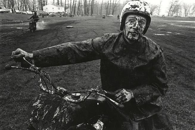Danny Lyon. 'Racer, Schererville, Indiana' 1965