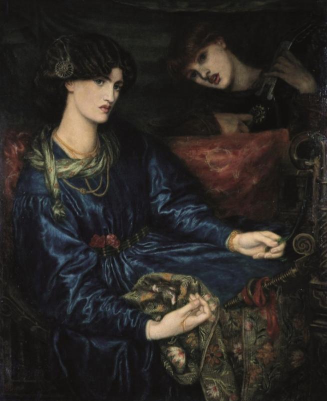 Dante Gabriel Rossetti. 'Mariana' 1870