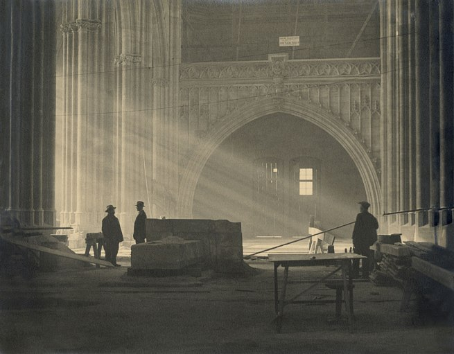 Josef Sudek. 'St. Vitus cathedral, Prague, Czech Republic' c. 1926