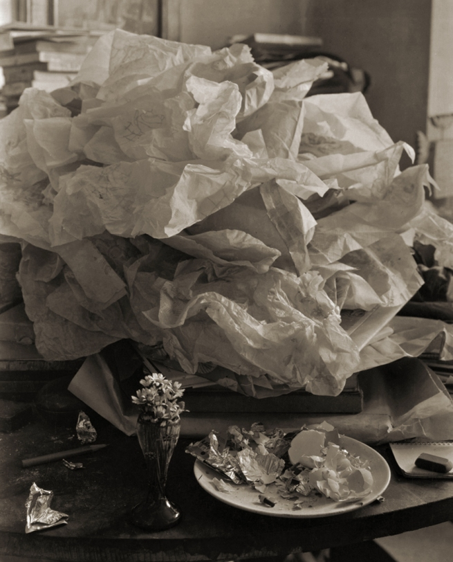 Josef Sudek. 'Labyrinthe sur ma table' 1967
