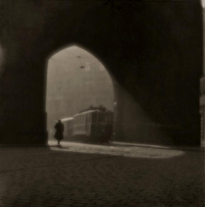 Josef Sudek. 'Rue de Prague' 1924
