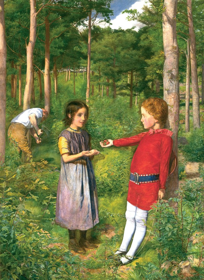 John Everett Millais. 'The Woodman's Daughter' 1850-51