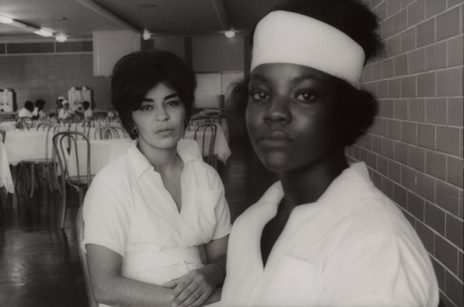 Danny Lyon. 'Two Inmates, Goree Unit, Texas' 1968