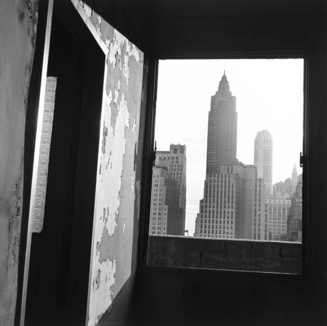Danny Lyon. 'View South from 100 Gold Street, New York' 1967