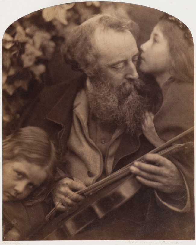 Julia Margaret Cameron (1815-1879) 'Whisper of the Muse' 1865