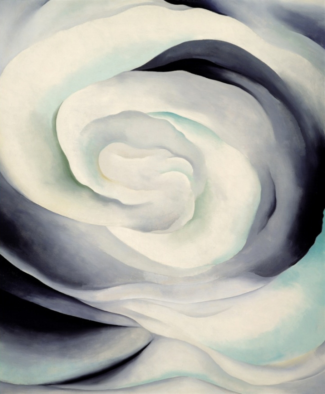 Georgia O'Keeffe (1887-1986) 'Abstraction White Rose' 1927