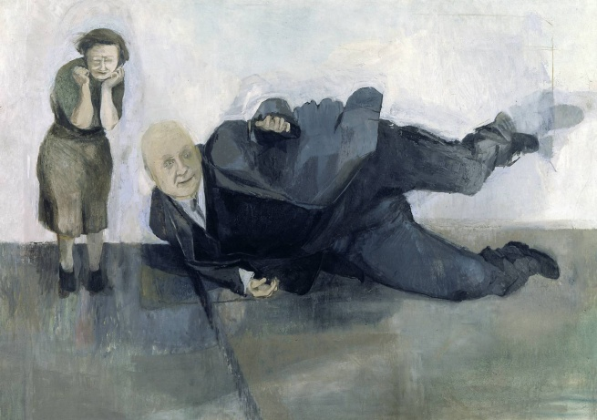 Michael Andrews (1928-1995) 'A Man Who Suddenly Fell Over' 1952