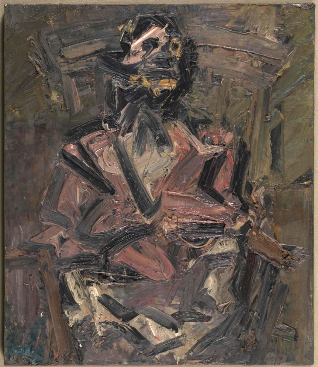 Frank Auerbach (born 1931) 'J. Y. M. Seated No. 1' 1981