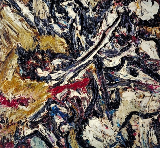 Frank Auerbach (born 1931) 'Study after Titian II' 196