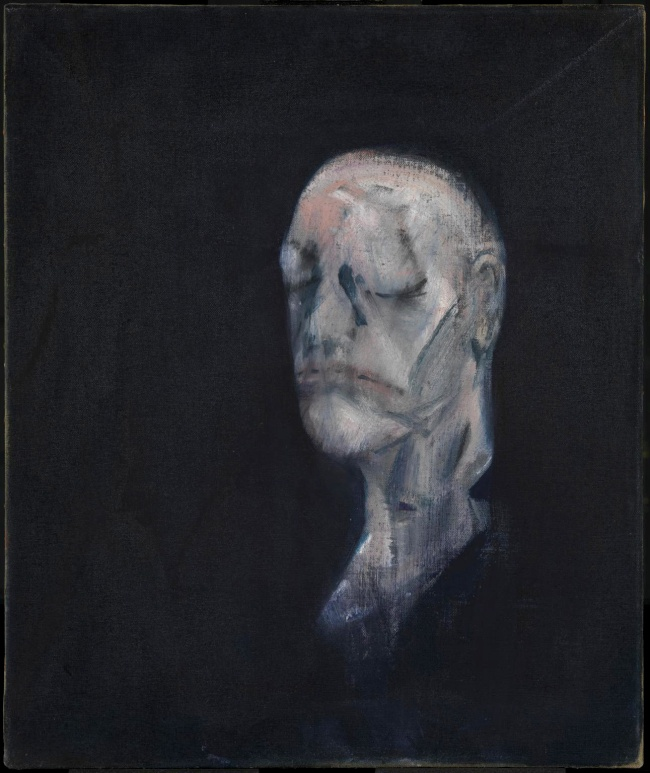 Francis Bacon (British, born Ireland, 1909-1992) 'Study for Portrait II (after the Life Mask of William Blake)' 1955