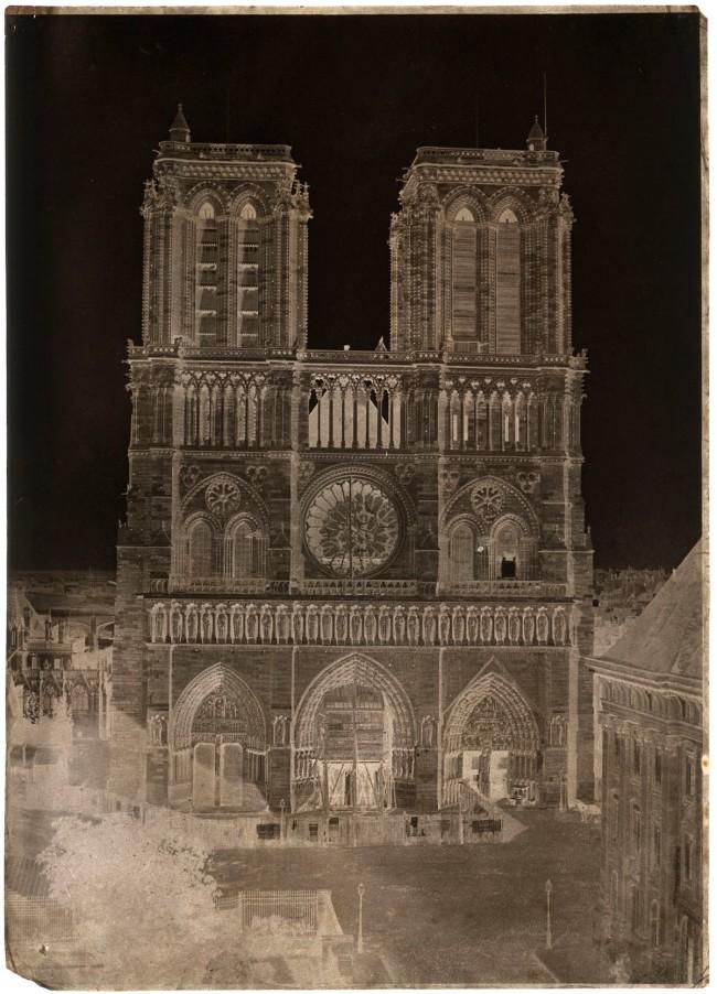 Charles Nègre (French, 1820-1880) 'Notre-Dame, Paris' c. 1853