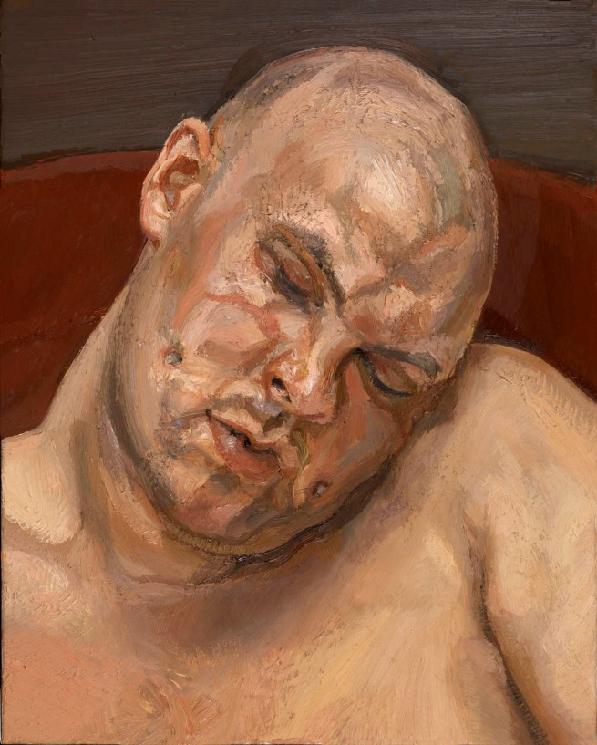 Lucian Freud (British, born Germany, 1922-2011) 'Leigh Bowery' 1991