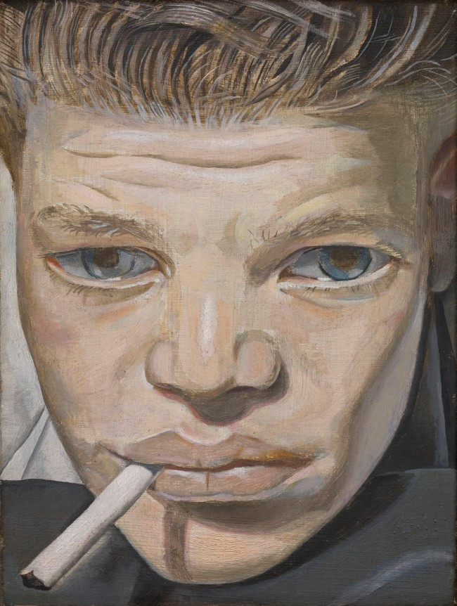 Lucian Freud (British, born Germany, 1922-2011) 'Boy Smoking' 1950-1951