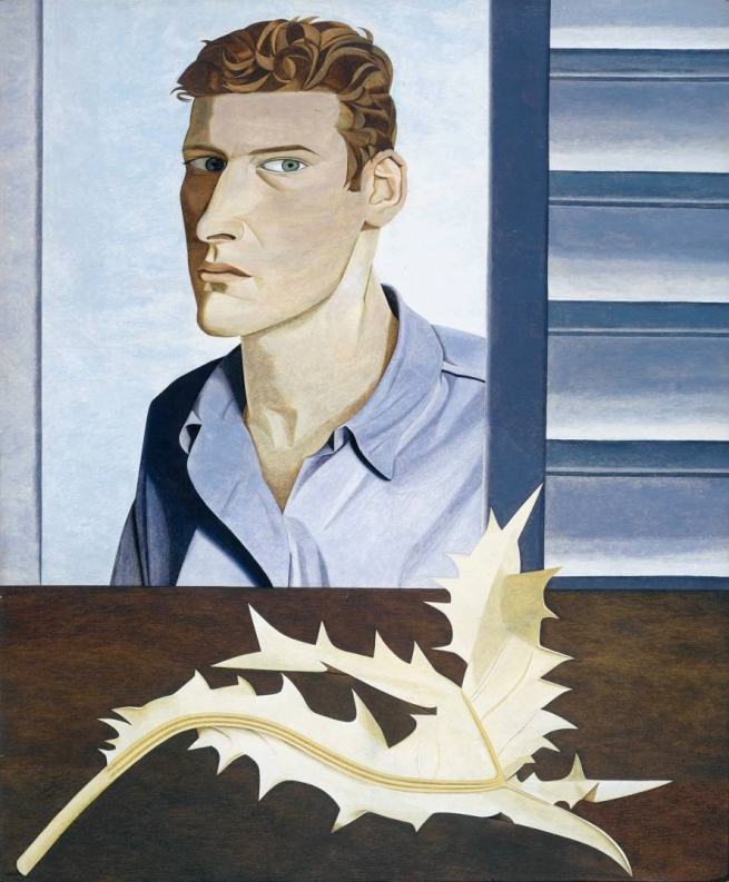 Lucian Freud (British, born Germany, 1922-2011) 'Man with a Thistle (Self-Portrait)' 1946