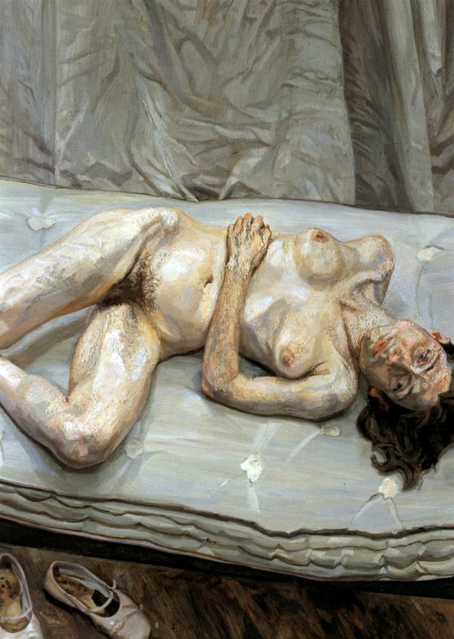 Lucian Freud (British, born Germany, 1922-2011) 'Naked Portrait' 2001