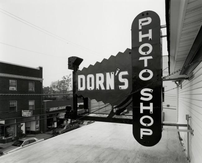 George Tice. 'Dorn's Photoshop, Red Bank, NJ, 1999' 1999