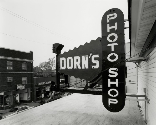 George Tice. 'Dorn's Photoshop, Red Bank, NJ, 1999' 1999