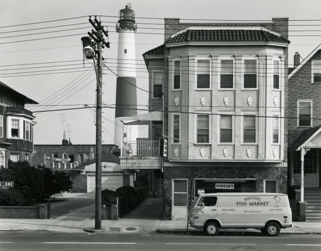 George Tice. 'Hudson's Fish Market, Atlantic City, NJ, 1973' 1973