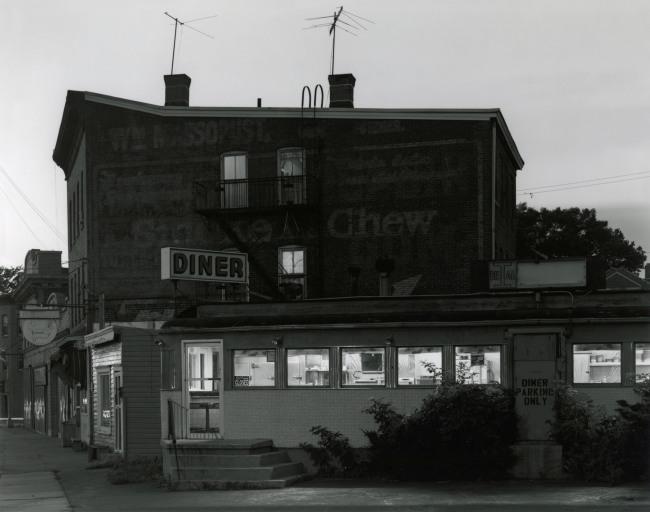 George Tice. 'Ideal Diner, Perth Amboy, NJ, 1980' 1980