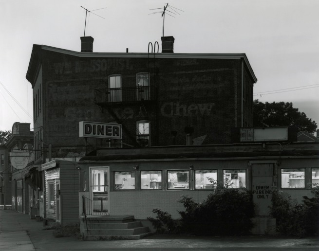 George Tice. 'Ideal Diner, Perth Amboy, NJ, 1980' 1980
