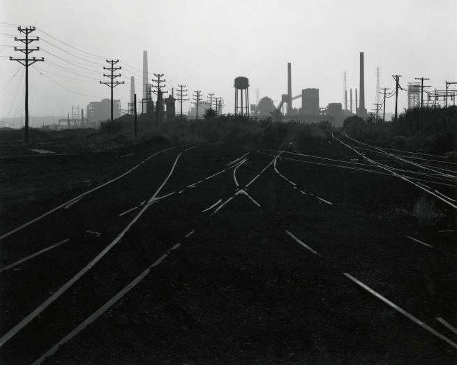 George Tice. 'Industrial Landscape, Kearny, NJ, 1973' 1973