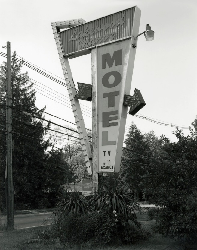 George Tice. 'Lakewood Manor Motel, Lakewood, NJ, 1998' 1998