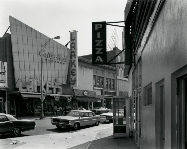 George Tice. 'Lexington Avenue, Passaic, NJ, 1973' 1973