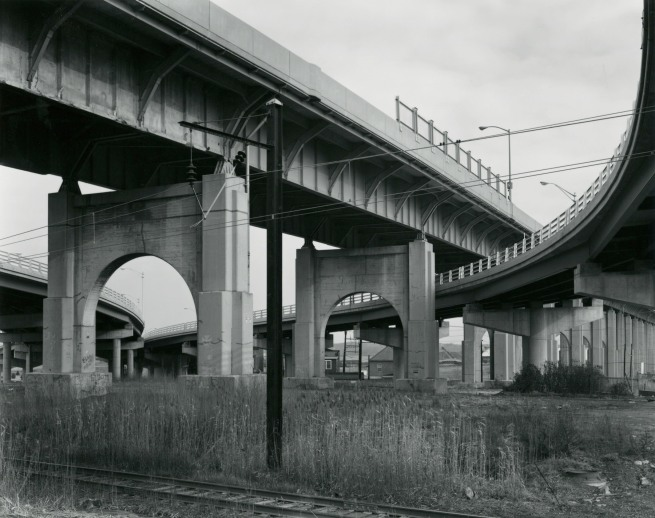 George Tice. 'Route #440 Overpass, Perth Amboy, 1973' 1973