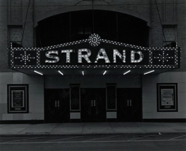 George Tice. 'Strand Theater, Keyport, NJ, 1973' 1973