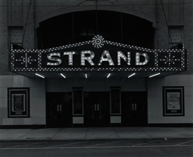George Tice. 'Strand Theater, Keyport, NJ, 1973' 1973