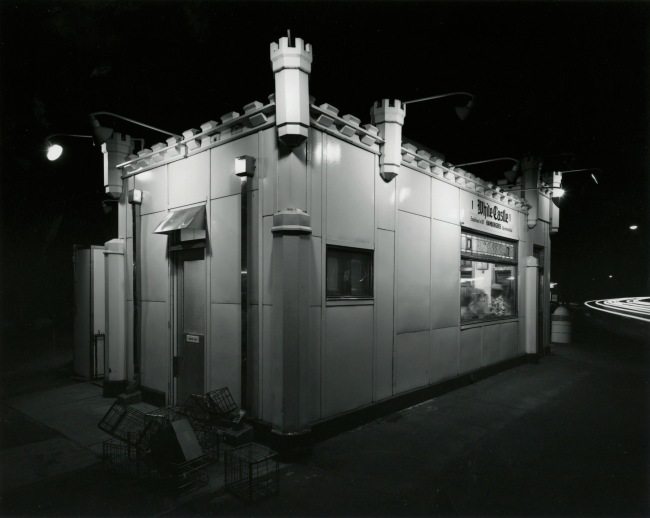 George Tice. 'White Castle, Route #1, Rahway, NJ, 1973' 1973