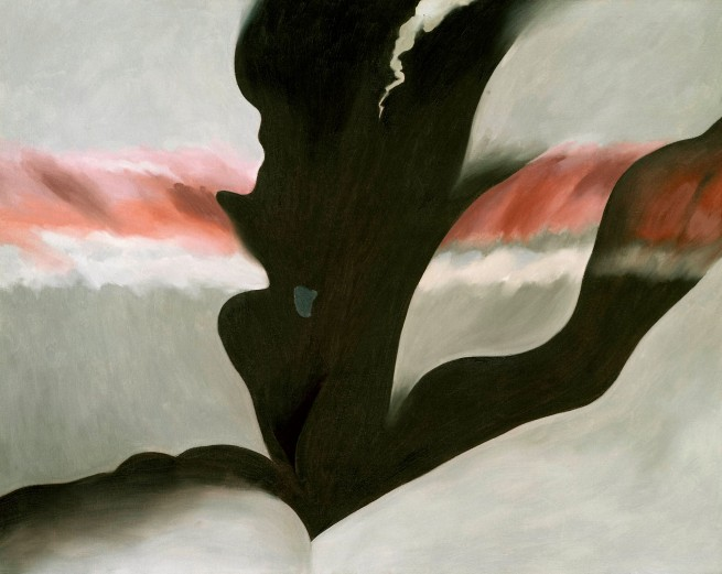 Georgia O'Keeffe (1887-1986) 'Black Place Green' 1949