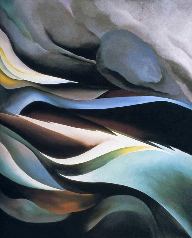 Georgia O'Keeffe (1887-1986) 'From the Lake No. 1' 1924