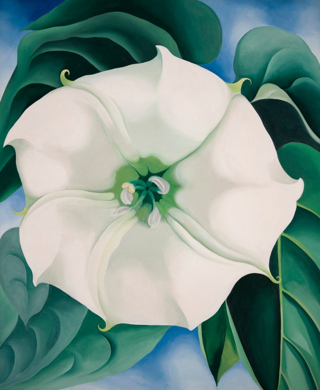 Georgia O'Keeffe (1887-1986) 'Jimson Weed/White Flower No. 1' 1932