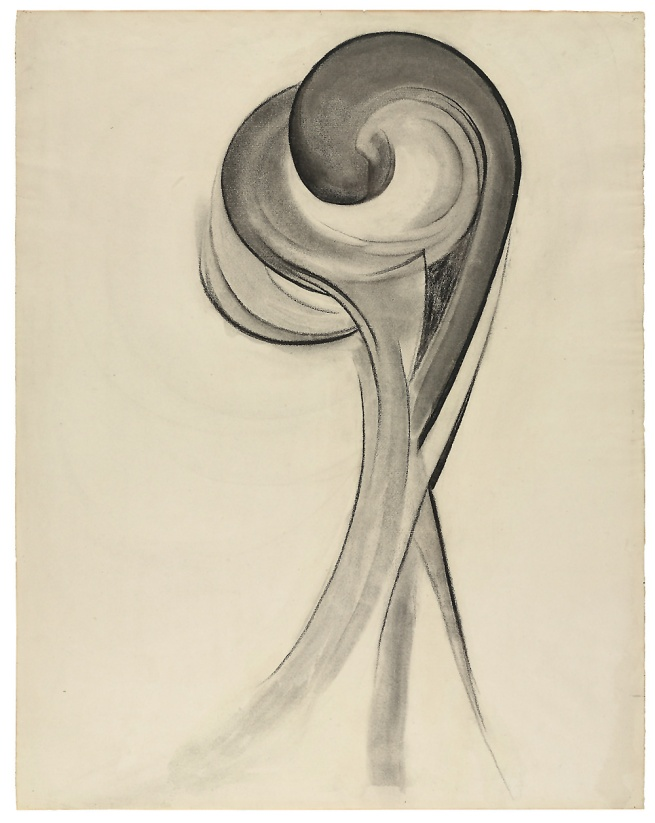 Georgia O'Keeffe (1887-1986) 'No. 12 Special' 1916