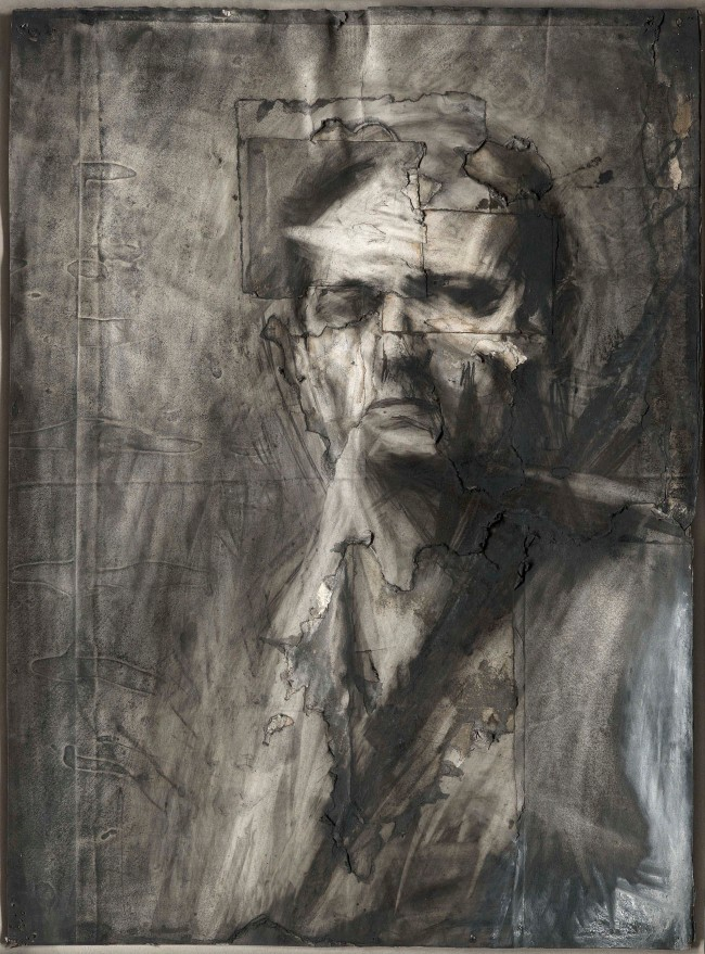 Frank Auerbach (born 1931) 'Self-Portrait' 1958