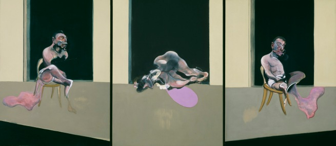 Francis Bacon (British, born Ireland, 1909-1992) 'Triptych August 1972' 1972