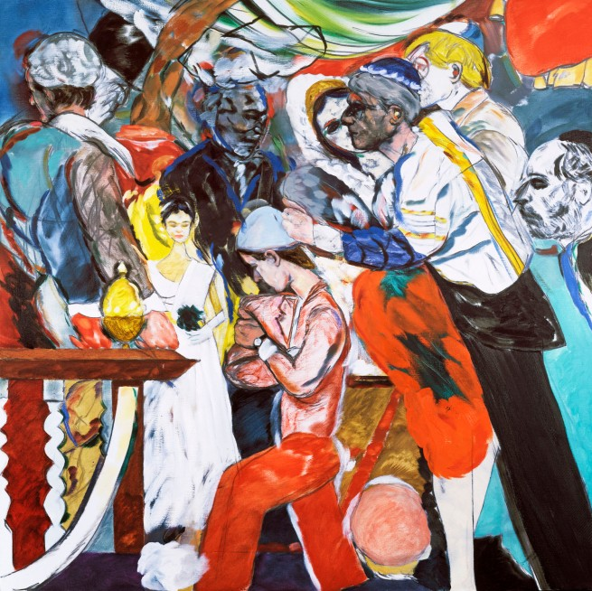 R. B. Kitaj (1932-2007) 'The Wedding' 1989-1993